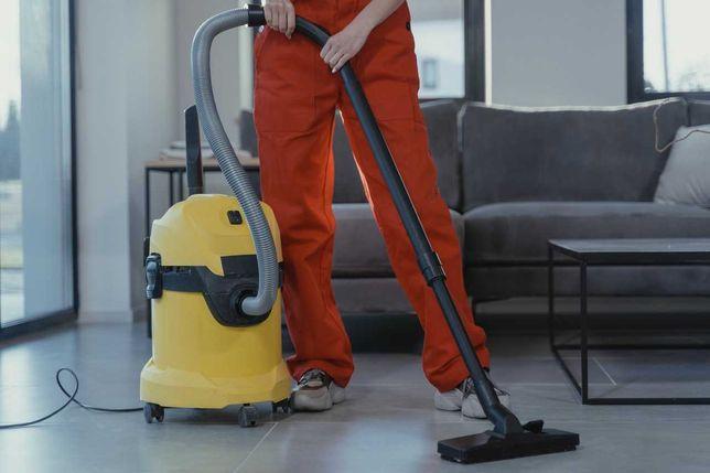 Sprzątanie domów, mieszkań, magazynów, pojazdów.