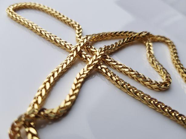 PERFEKCYJNY Złoty łańcuszek LISI OGON pr.585