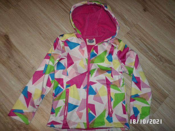 super bluza-softshell dla dziewczynki-rozmiar -122/128cm