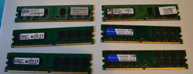 Pamięć ram DDR1 DDR2 DDR3 1333MHz 1600MHz stacjonarny 2gb 4gb 8gb