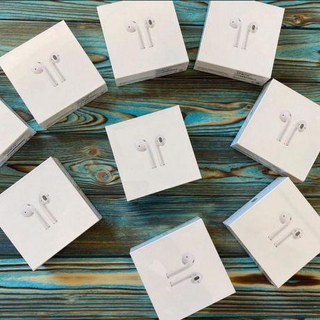 АКЦІЯ Оригінальні навушники AirPods 2 WR для iPhone 5 6 7 8 X 11 12 SE