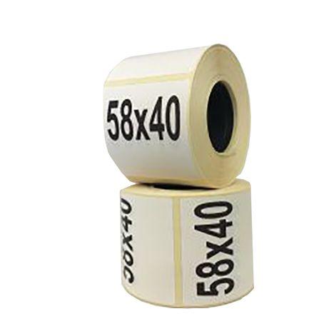 Термоетикетка/термоэтикетка 58*40(700) Есо, БЕЗКОШТОВНА доставка