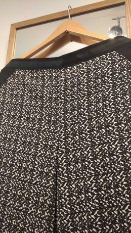 Lejące spodnie we wzory, lampasy, George, rozmiar  16 44