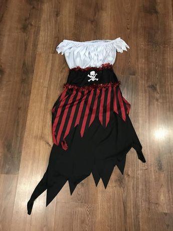 Платье пиратки на девочку 4-6 дет