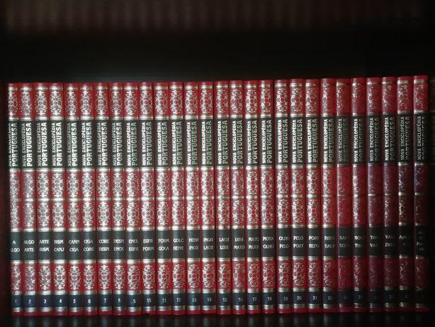 Nova enciclopédia Portuguesa 28 volumes