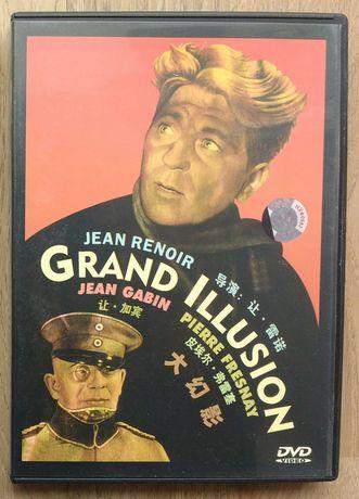 """DVD """"A grande ilusão"""", de Jean Renoir. Sem legendas em português."""