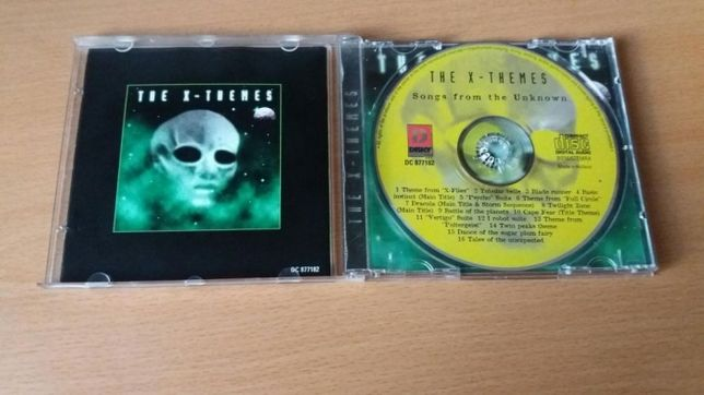 PŁYTA CD The X - Themes, songs from the unknown, rock