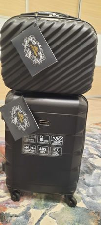 Walizka firmowa Wittchen w zestawie z kuferkiem