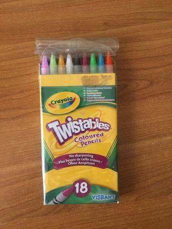 Crayola карандаши новые