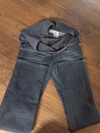 H&M Spodnie dżinsowe ciążowe nr 34 IDEALNE