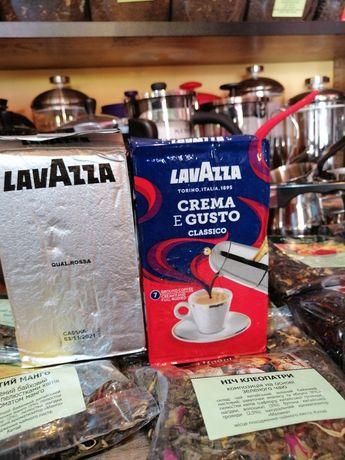 Кава, Кофе молотый, Лаваца, Лаваза, Lavazza, Oro, Rossa, Crema e Gusto