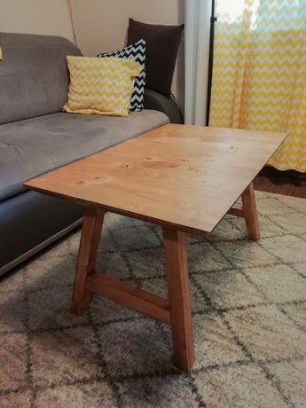 Stolik drewniany 76x49x44 DIY