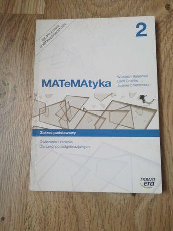 Matematyka *Ćwiczenia i zadania dla szkół ponadgimnazjalnych *Nowa era