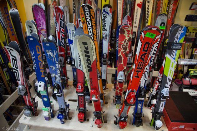 WYPOŻYCZALNIA-SERWIS-WYMIANA nart, snowboardu, butów narciarskich