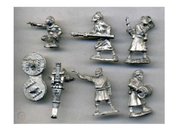 Warhammer DA044 - Zanzibari Cannon Foundry Miniatures #2