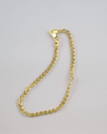 Piękna złota bransoletka 585 2,53G
