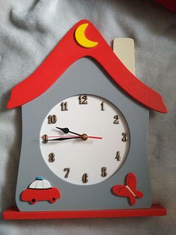 Zegar ścienny do pokoju dziecięcego