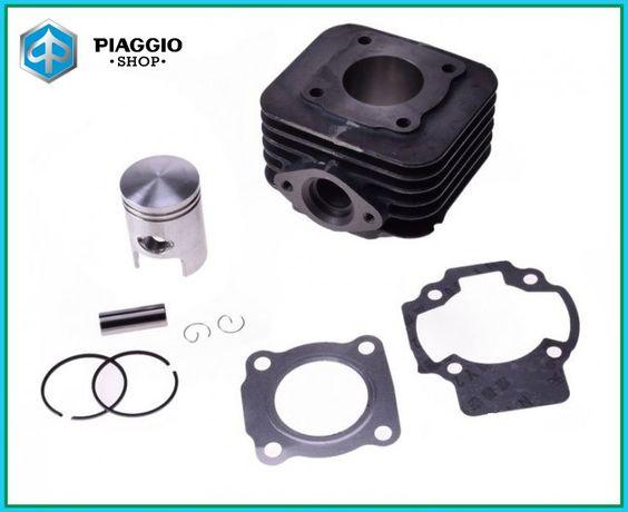 Цилиндр kpl.(поршневая) скутер Piaggio, Gilera, Vespa 50 AC (воздушка)