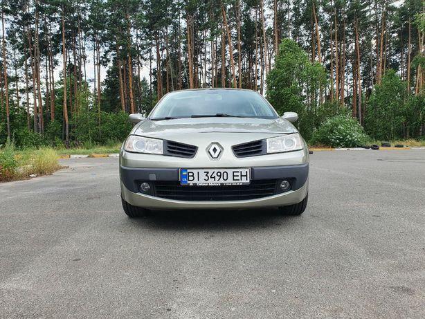 Renault Megane II 2007 1.6 АКПП газ/бензин