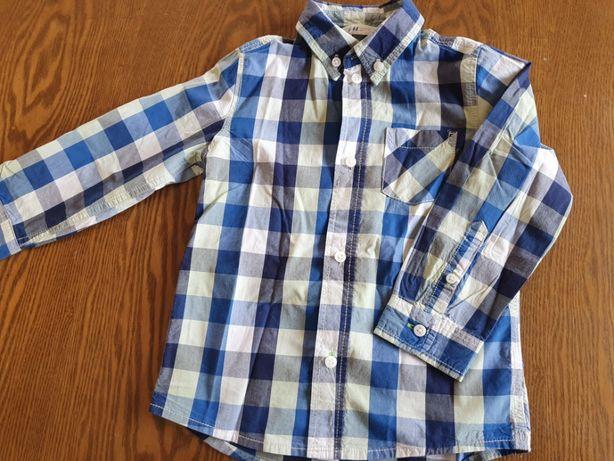 Koszula w kratę rozmiar 98 HM