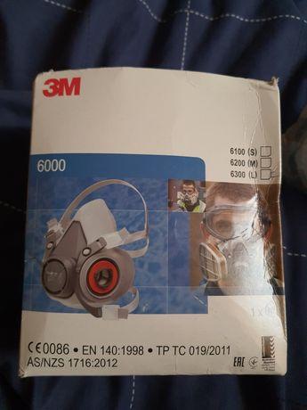 Maska 3M 6300 L. Z filtrami