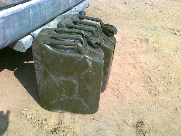 Kanister metalowy 20L