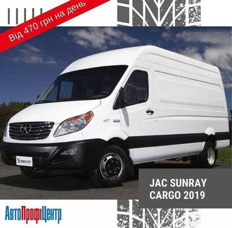 Мікроавтобус вантажний JAC SUNRAY CARGO