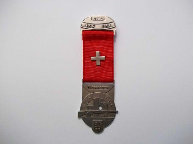 Железный Swiss shooting  Стрелковый  Знак цвет Серебро