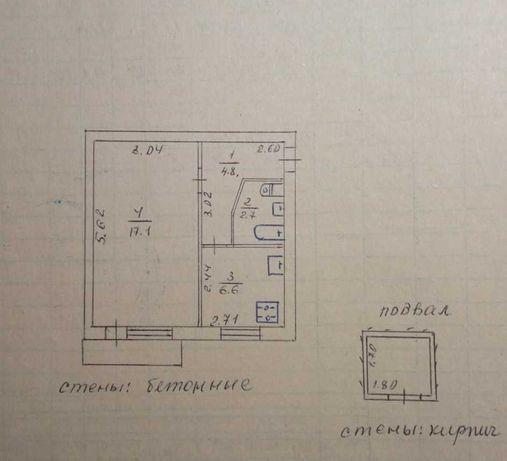 1-комнатная квартира на Алмазном по шикарной стоимости