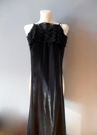 Czarna wieczorowa sukienka -rozmiar XS