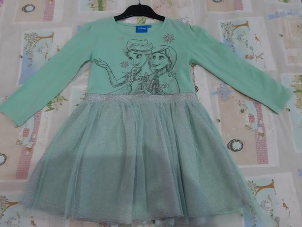 Sukienka dziewczęca firmy Disney w rozmiarze 110 cm