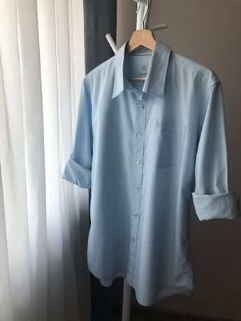 Koszula błękitna niebieska House casual L