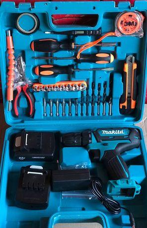 Аккумуляторный шуруповерт Makita DF331D 24v/5ah с набором