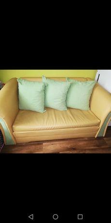 Sofa dwuosobowa ekoskóra