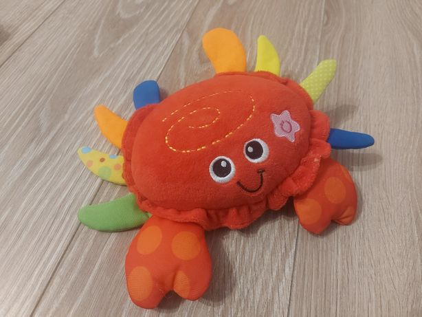 Krab zabawka interaktywna
