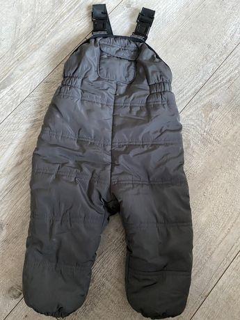 Spodnie narciarskie Zara r.86