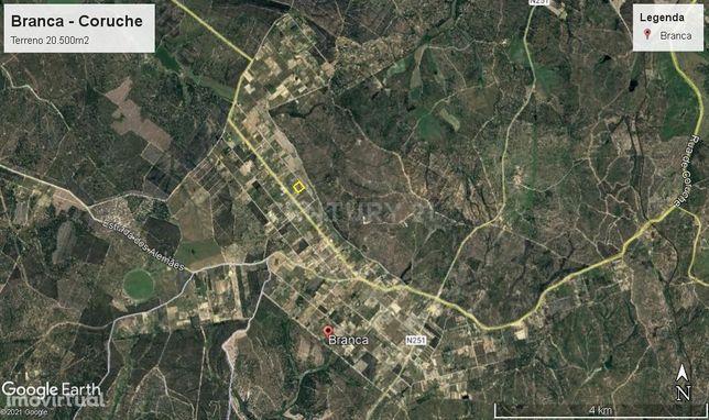 Terreno na Branca-Coruche com 20500m2