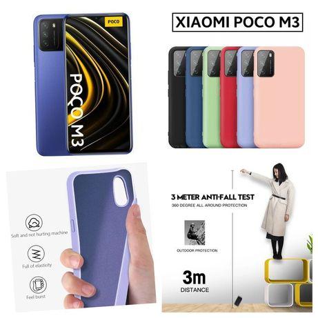 Capa Soft P/ Xiaomi Poco M3 / Redmi 9T -Div. Cores- Nova - 24h