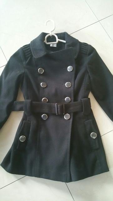 Płaszcz dla dziewczynki r.128