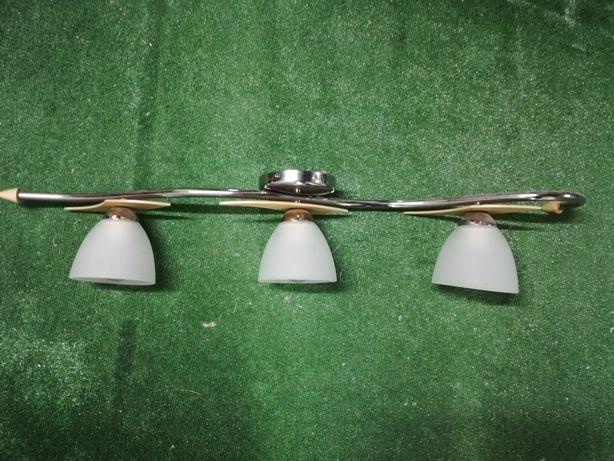Lampa wisząca dodatkowo dwa kinkiety