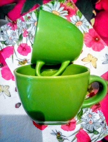 Чашки чайная кофейная дуэт набор
