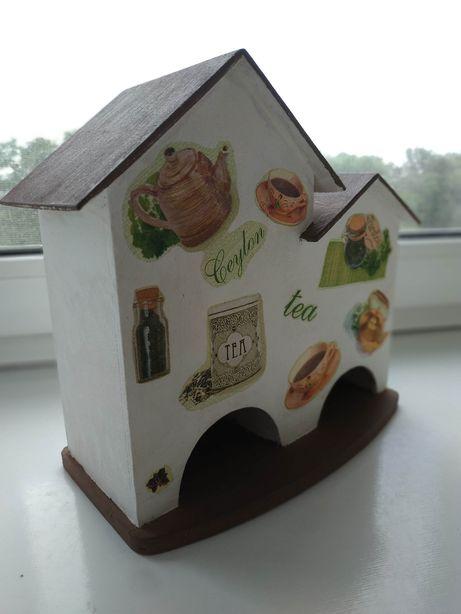 Будиночок для чаю, чайних пакетиків
