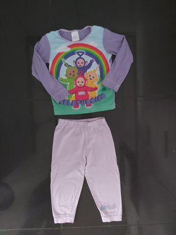 Piżamka, piżama Teletubisie, rozmiar 98