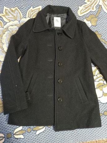 Пальто осень черное