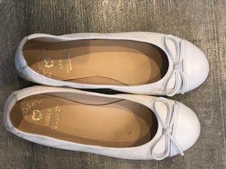 buty dziewczęce białe rozmiar 37 PABLOSKY komunijne