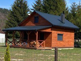 Domek drewniany na zgłoszenie