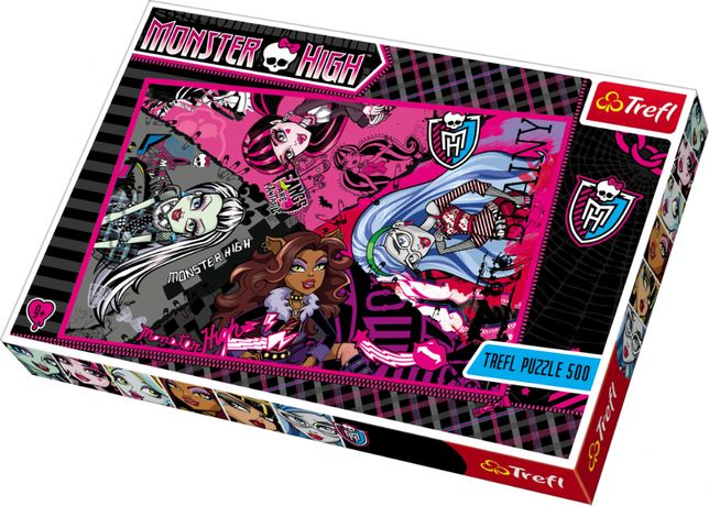 Trefl Monster High Puzzle 500 elementów
