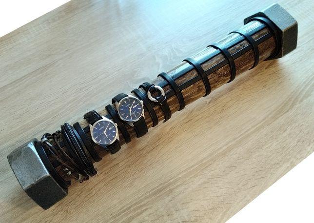 Industrialny stojak, ekspozytor na zegarki Casio Orient Seiko Atlantic