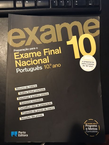 Preparação para o Exame Final - Português 10º Ano