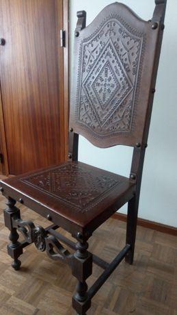 Cadeira pele